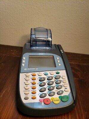 New Hypercom Optimum T4100 Credit Card Processor Paymentreader 4100 No Cords