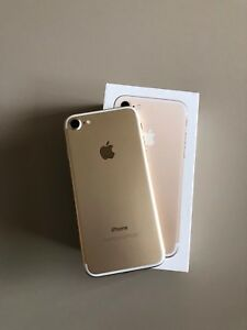 iPhone 7 Gold 32g comme neuf