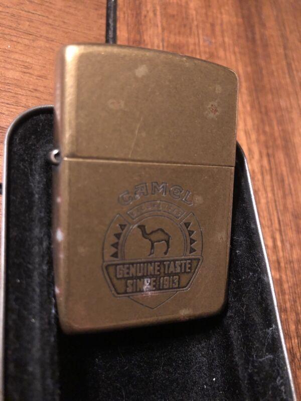 1995 Camel Genuine Taste Since 1913 Zippo Lighter Classic Antique