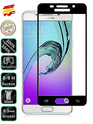 Protector COMPLETO Galaxy A5 2016 Negro Completo 3D Cristal Templado Pantalla