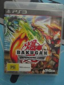 Bakugan: Defenders Of The Core For PS3 ***BRAND NEW*** Campbell North Canberra Preview