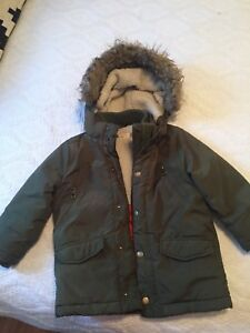 H & M toddler winter coat  size 2/3