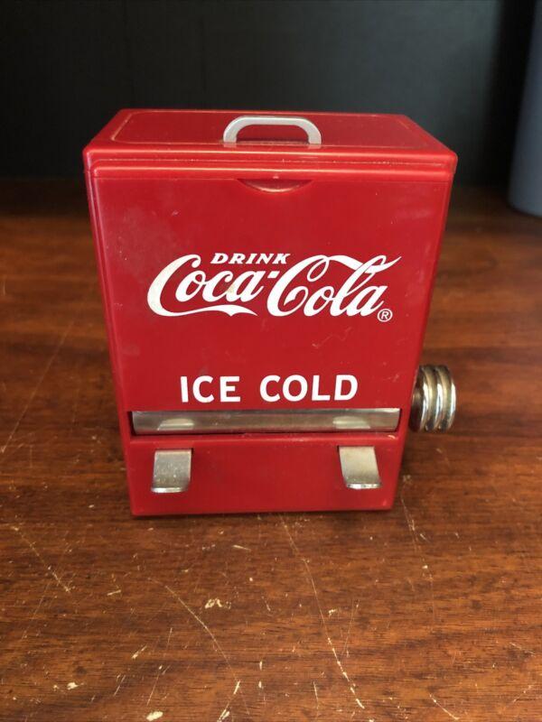 Vintage 1995 Coca Cola Toothpick Dispenser