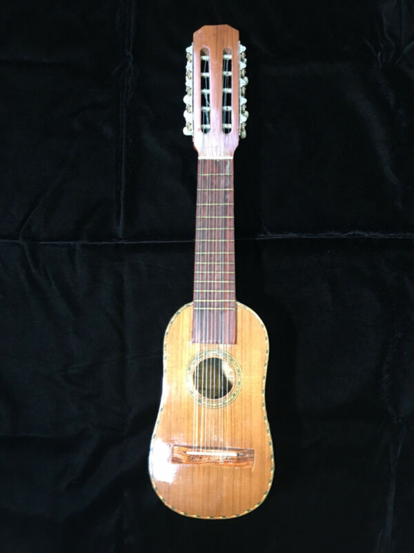 Charango with armadillo back, from Mexico circa 1980s