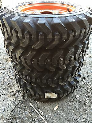 4-5.70-12 Xtra Wall Foam Filled Skid Steer Tireswheels For Bobcat 453463s70