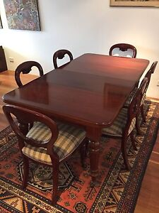 Edwardian 4 Leaf Dining Table Dulwich Hill Marrickville Area Preview