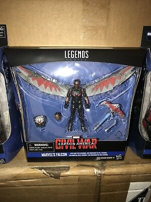 "MARVEL LEGENDS Marvel's Falcon 3.75"" Captain America CIVIL WAR Black Panther"