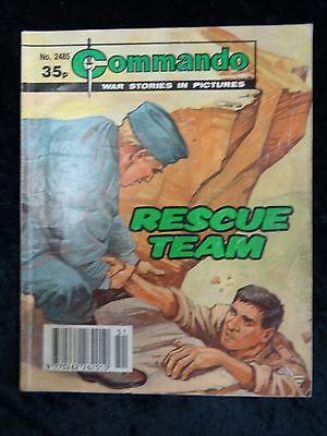 Commando No.2485, Rescue Team.