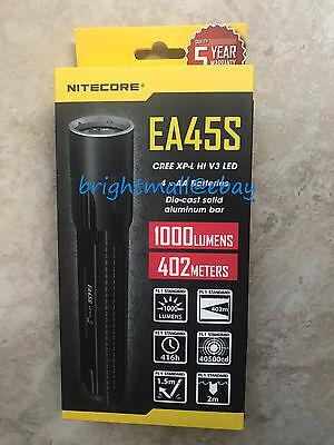 NEW NITECORE EA45S 1000 LUMENS  LED FLASHLIGHT