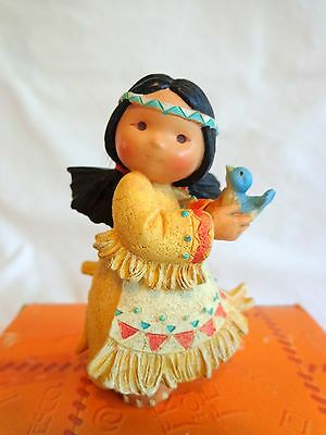 Friends of the Feather LITTLE BIRD TOLD ME Figurine 1994 Enesco 115614