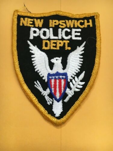 New Ipswich New Hampshire Vintage Police Patch version 2