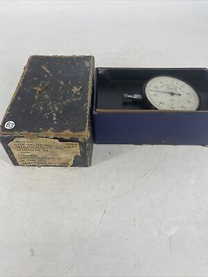 Tumico 0-50-0 Tubular Micrometer Dial Indicator .001 St James Minnesota W Box