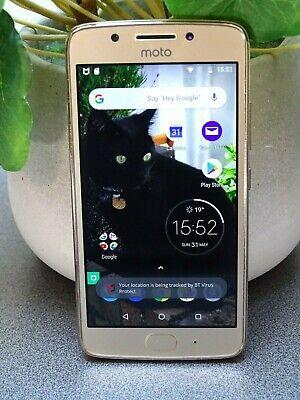 Motorola MOTO Moto G5 - 16GB - Fine Gold Android Smartphone Tesco Mobile