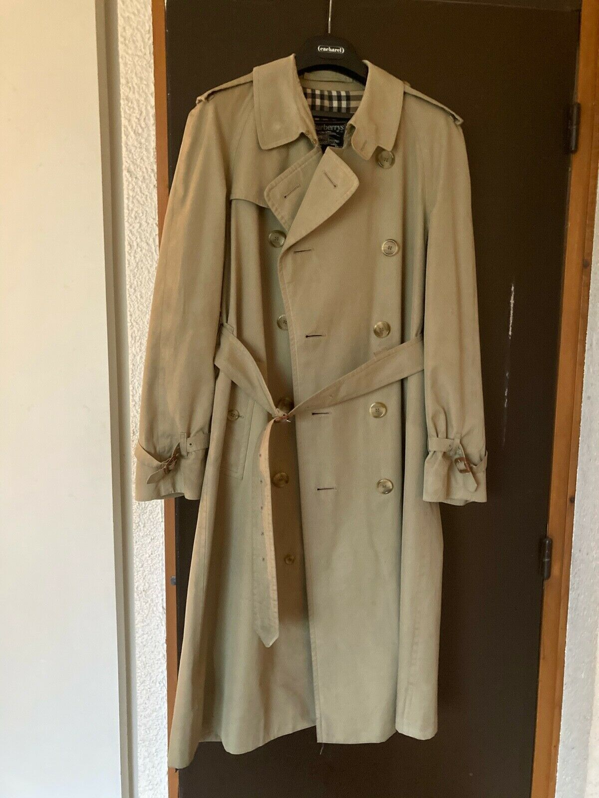 Burberry's trench imperméable t.50 made in england