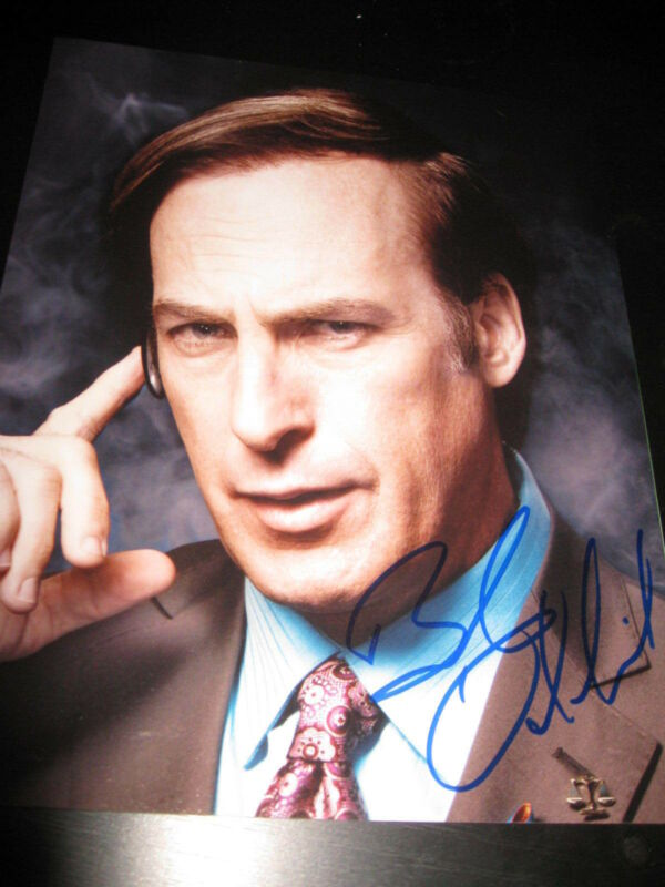 BOB ODENKIRK SIGNED AUTOGRAPH 8x10 PHOTO BETTER CALL SAUL BREAKING BAD COA X15