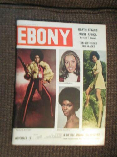 Ebony Magazine (November 1973) Battle Among the Beauties