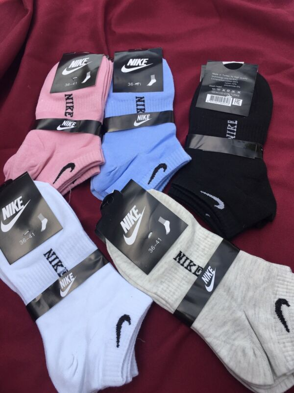 NIKE Womens Ankle Socks 20 Pairs  Free shipping!