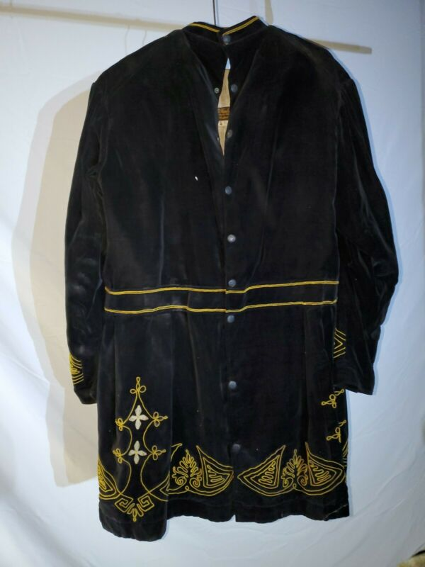Antique Odd Fellows Black Guard Jacket
