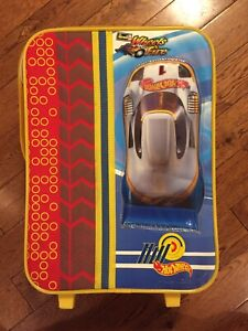 Kids suitcase: Hot Wheels