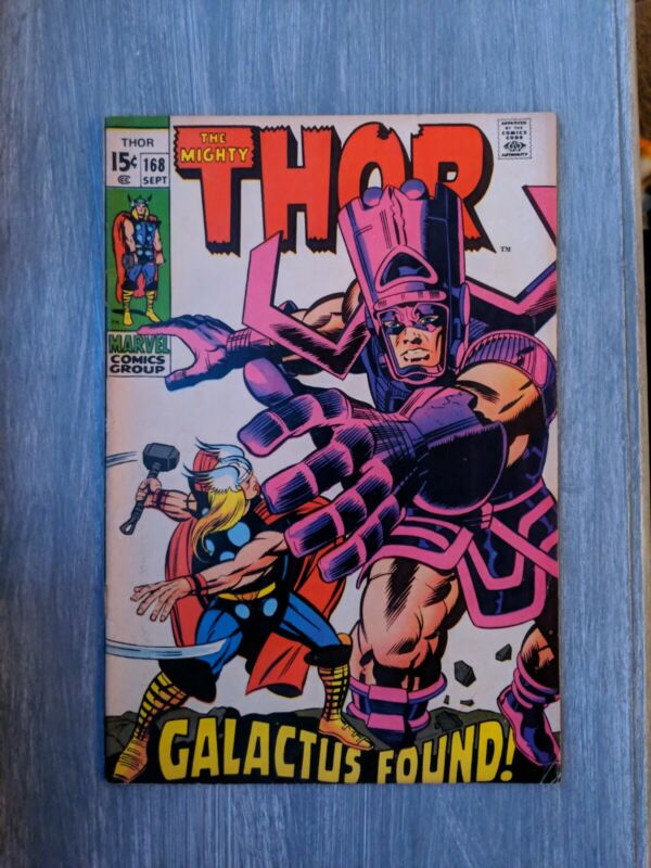 Silver Age The Mighty Thor 168
