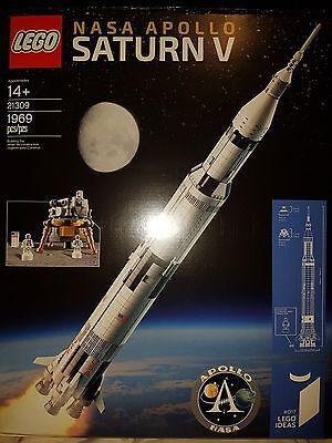 Lego Ideas Nasa Apollo Saturn V  21309  Brand New Factory Sealed W  1969 Pieces