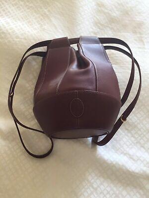 Cartier Authentic Vintage Tulip Bucket Bag Shoulder Bucket Bag