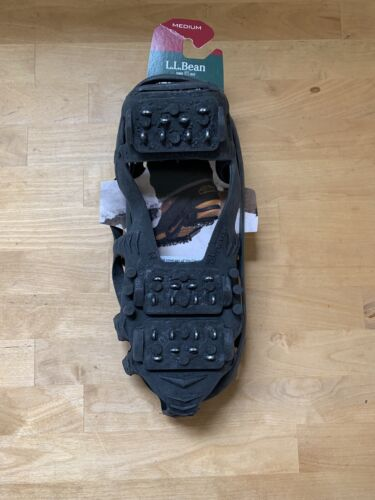 New LL Bean Stabilicers Lite Medium Slippery Ice Traction Me