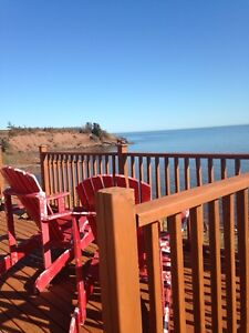 Oceanfront Cottage for weekly rental on Northumberland Strait
