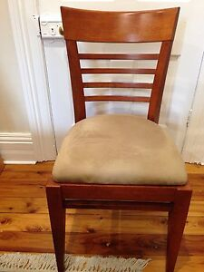 Wooden dining chairs Lane Cove Lane Cove Area Preview