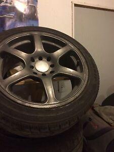 4 mag et pneu