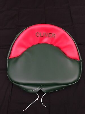 Tractor Seat For Oliver 60 66 70 77 80 88 Tractor Embroidered