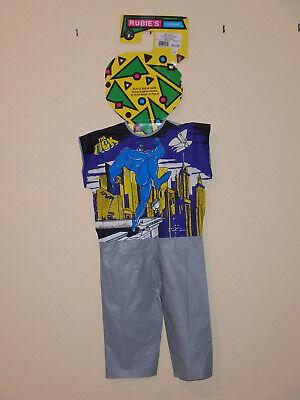 HALLOWEEN THE TICK RUBIES VINYL COSTUMES (NO MASK) CHILDRENS SMALL - Halloween Costumes No Mask