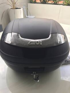 Near new motorcycle top box - Givi E340N 34L Woolloomooloo Inner Sydney Preview