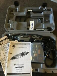 New Dremel drill tool with hard case