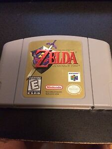 N64 Zelda cart nintendo working cart Firm price