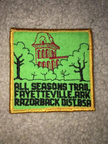 Boy Scout BSA All Seasons Westark Area Council Arkansas Razorback Trail Patch