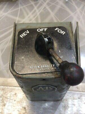 Allen Bradley 350-16 Bulletin 350 Size 1 Reversing Drum Switch Forward Reverse