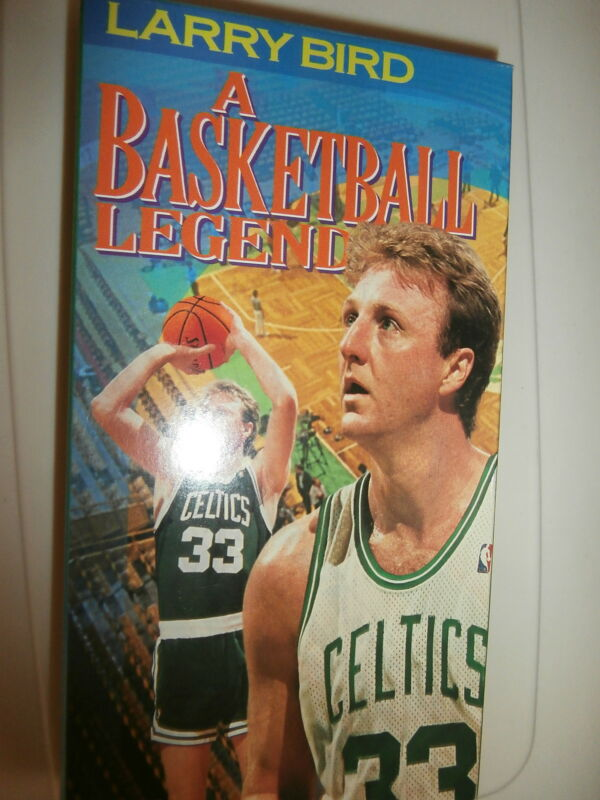 """Larry Bird A Basketball Legend"" VHS"