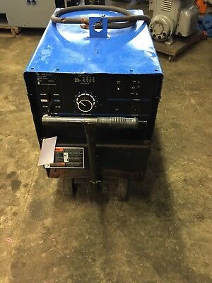 Miller Dialarc 250 Constant Current Acdc Arc Welding Powersource Serial Kk27416