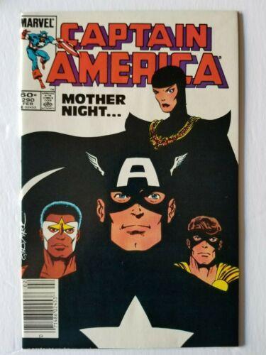 Captain America #290 1st Appearance Syn (Marvel)
