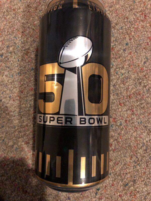 Bud Light Super Bowl Limited Edition 50 Can Bottle