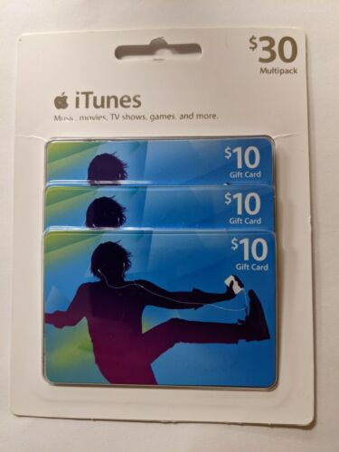 Itunes Gift Card Sealed 30 - $22.50