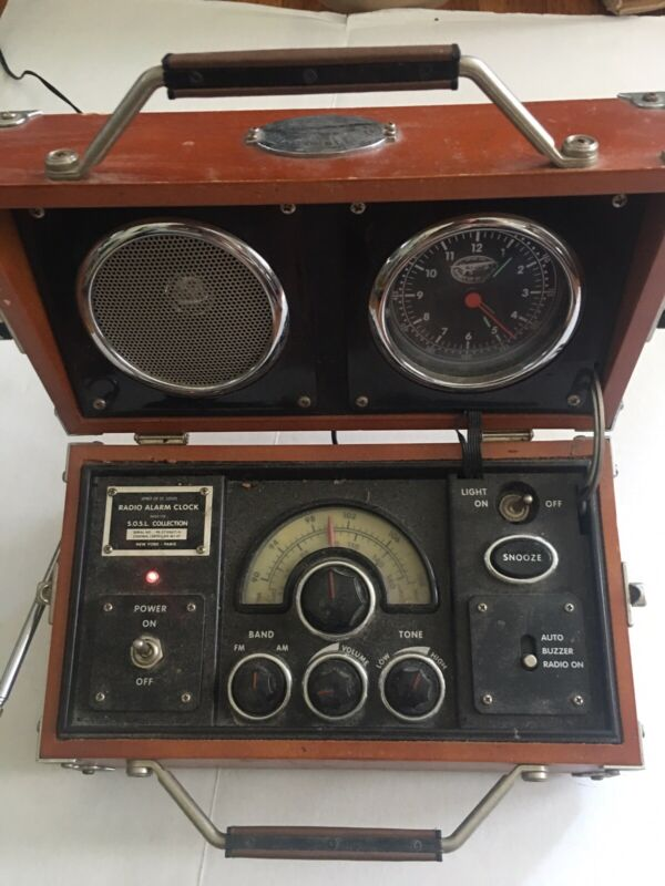 Spirit Of St. Louis  S.O.S.L. Collection Portable Radio/Alarm Clock - PARTS ONLY