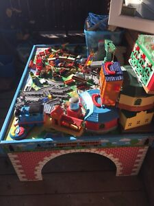 Thomas the train table and sets