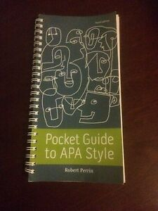 Pocket guide to APA Style Beenleigh Logan Area Preview