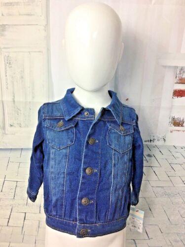 Baby Girl Boy Denim Jean Jacket  Cat & Jack™ Blue  Jacket 12 months New NWT