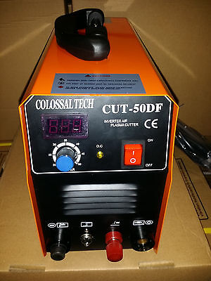 Plasma Cutter Cut50df Pilot Arc 110v-220v Includes 18 Consumables New 2019 Pilot
