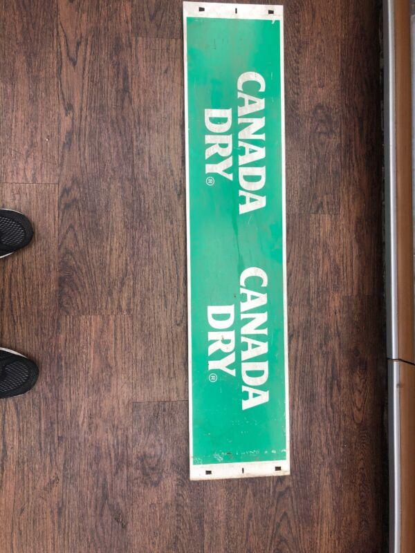 Canada Dry Metal Sighn Vintage