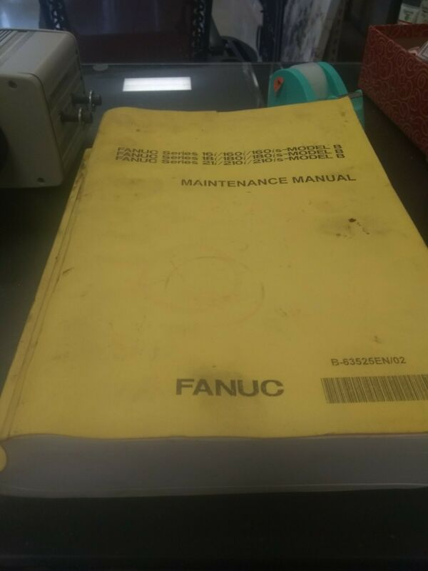 B 63525EN/02 Fanuc Maintenance Manual