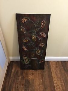 Decorative tin accent piece